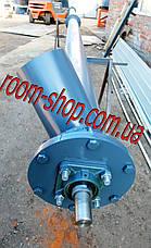 Шнековый погрузчик (транспортер, питатель) диаметром 133 мм., длиною 5 метров, фото 3