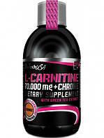 Карнитин L-Carnitine 70 000 + Chrome BioTech (500 мл)