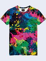 Мужские футболки с 3Д принтом