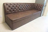 Розкладний диван для вузької кухні (Шоколадний колір), фото 1