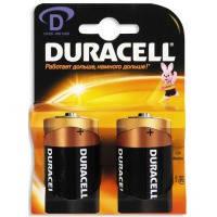 Батарейка duracell d/ lr20 mn1300 kpn 02*10 2 штуки на блистере (81427278)