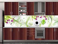 Скіналі для кухні (ламінована наклейка) Кухонний фартух розмір 600*3000 мм. Код-09911