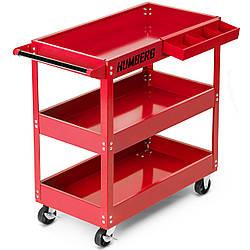Тележка для инструментов Humberg HR-808 красная (9105)