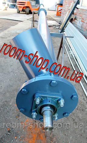 Винтовой транспортер (питатель, погрузчик) диаметром 133 мм., длиною 7 метров, фото 2