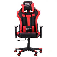 Кресло VR Racer Dexter Hound черный/красный AMF