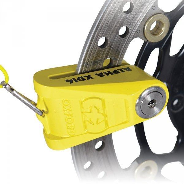 Мотозамок тормозного диска Oxford LK276 для мотоцикла