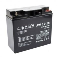 Аккумуляторная батарея AW12- 18 AGM