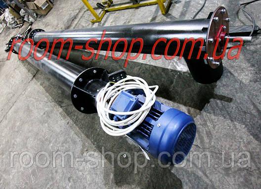 Шнековый питатель (транспортер, цемента) диаметром 159 мм., длиною 2 метра, фото 2