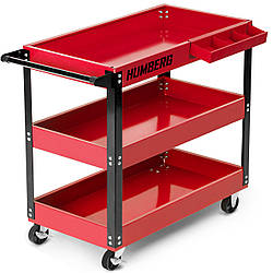 Тележка для инструментов Humberg HR-809 красная (9106)