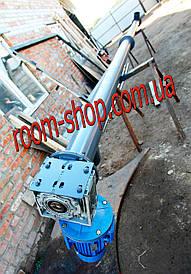 Гвинтовий живильник (навантажувач, конвеєр) діаметром 159 мм, довжиною 3 метри