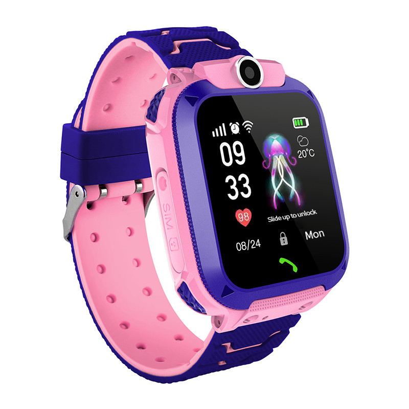 Детские умные влагостойкие смарт часы Q12 Smart Baby Watch