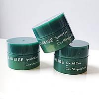 Ночная восстанавливающая маска для сухой кожи, Laneige Cica Sleeping Mask, Корея, 10 мл