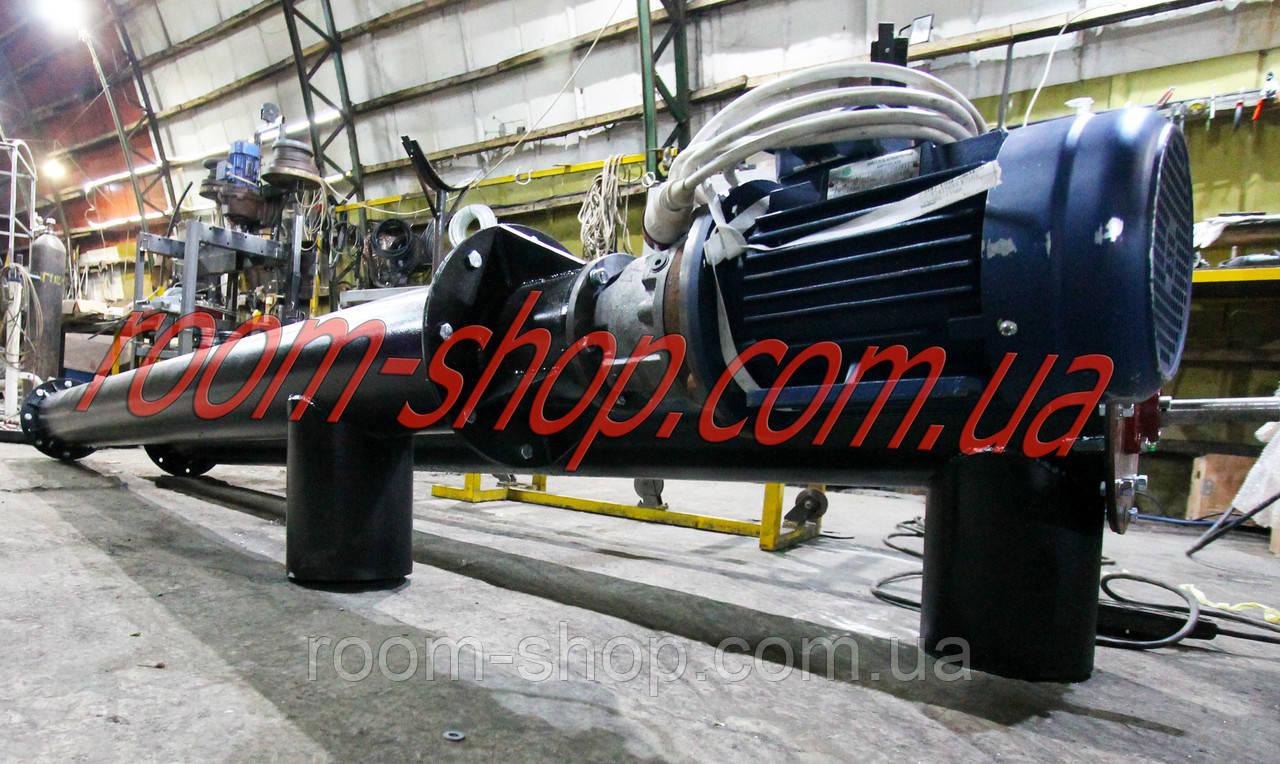 Шнековий транспортер (живильник, шнек) діаметром 159 мм, довжиною 6 метрів