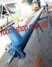 Винтовой транспортер (питатель, погрузчик) диаметром 159 мм., длиною 7 метров, фото 2