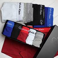 Подарочный набор мужского нижнего белья Брендовые трусы транк боксеры 5 цветов реплика, фото 1