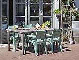 Стол садовый уличный Allibert Futura Cappuccino ( капучино ), фото 7