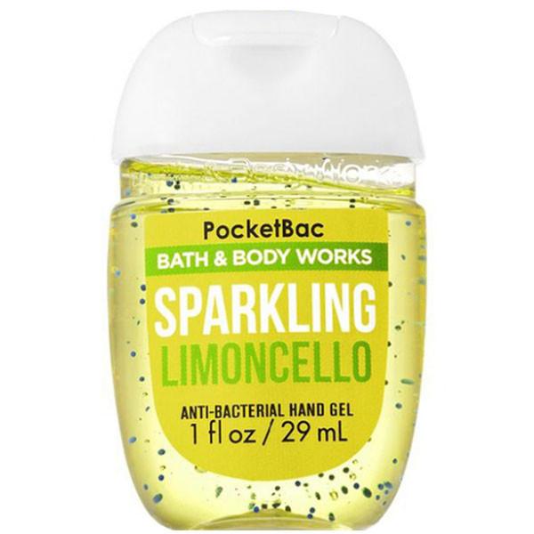 Антибактериальный гель для рук «лимон и мята» Bath and Body Works Sparkling Limoncello