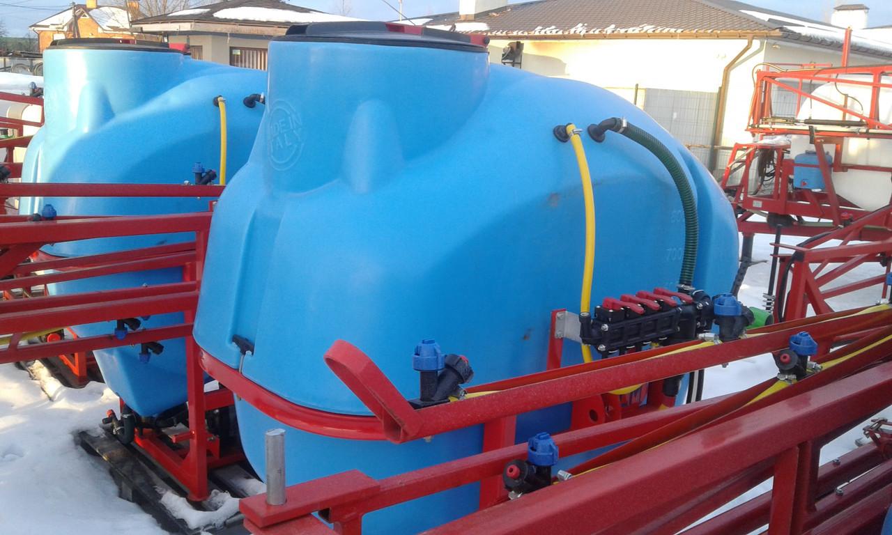 Обприскувач навісний Jar Met 800 л/14 м Польша