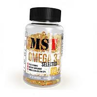 MST Sport Nutrition, Рыбий жир Omega 3 Selected, 110 капсул