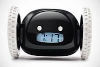 Убегающий будильник Clocky черный, фото 1