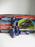 Липкая лента БРОС (BROS)  от мух 100 шт, фото 1