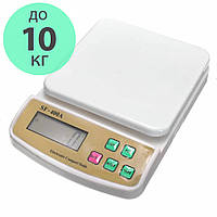 Весы кухонные цифровые SF-400A точные 0.1г до 10кг с подсветкой