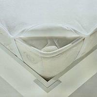 Наматрасник детский Laska-M с резинкой по углам, 60х120см, белый, в детскую кроватку, для новорожденных