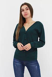 S, M, L / Стильна жіноча кофта Nevada, темно-зелений