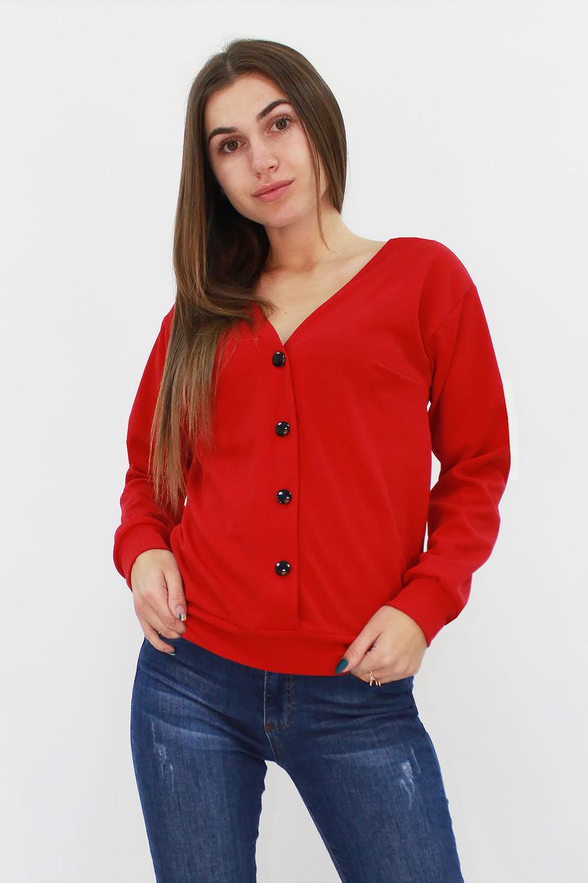 S | Стильна жіноча кофта Nevada, червоний