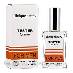 TESTER  мужской Clinique Happy For Men 60 мл