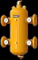 Гидрострелка сепаратор c магнит.улав. TRF.M фланцев. с манометрами 16bar KVANT Air DiRT