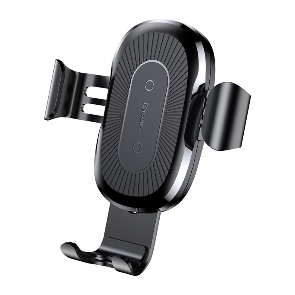 Автомобильный держатель с беспроводной зарядкой Baseus Wireless Charger (WXZT-01), Черный