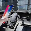 Автомобильный держатель с беспроводной зарядкой Baseus Wireless Charger (WXZT-01), Черный, фото 8