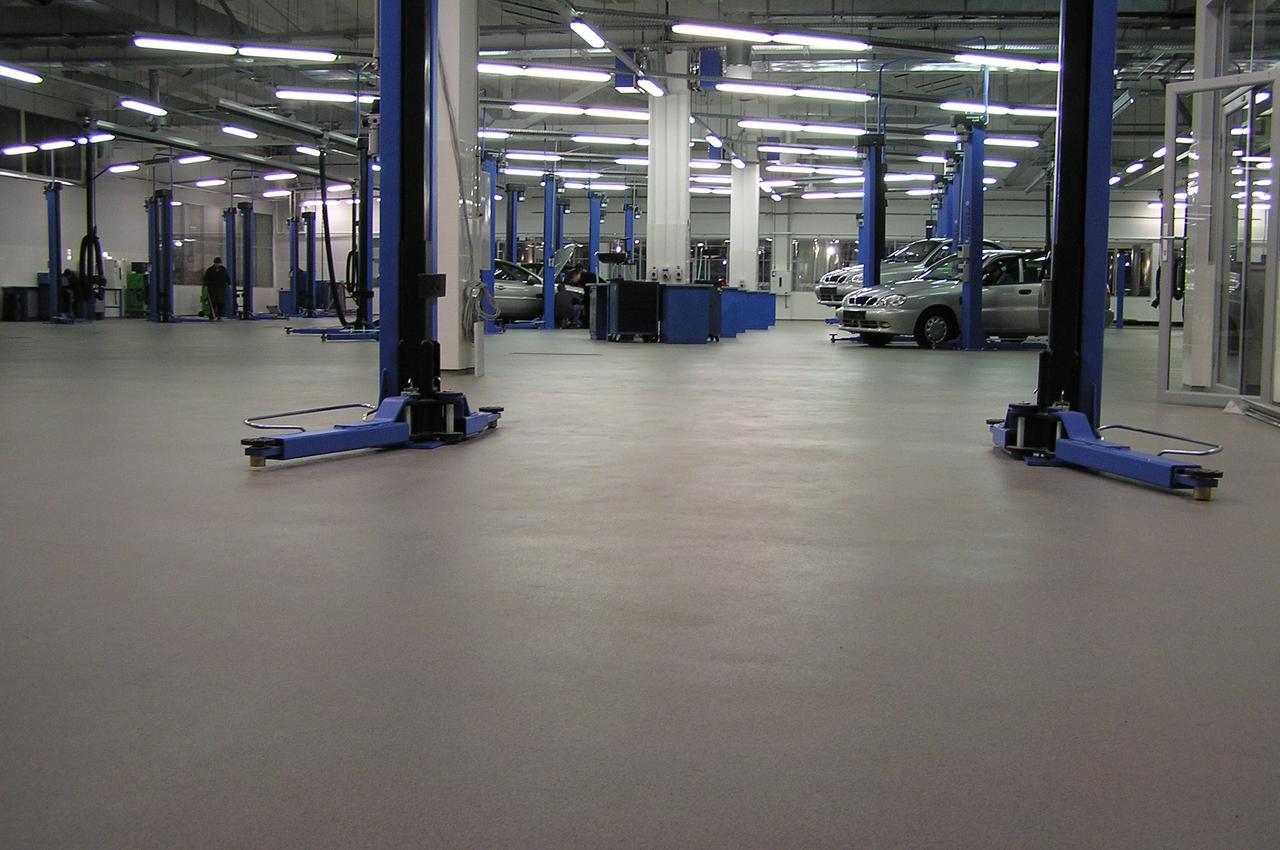 Надміцні підлоги з кольоровим кварцовим піском