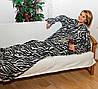Одеяло с рукавами Снагги (Snuggie) (голубой,шоколад,бордовый,розовый), фото 6