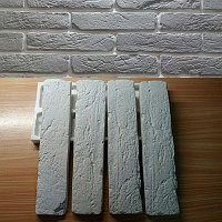 Силиконовая форма для плитки Канадский клинкер на 2 камня