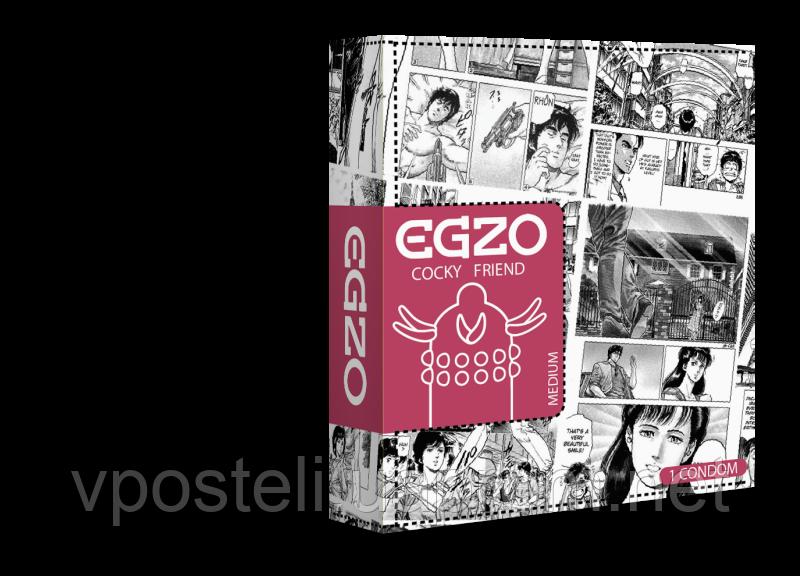 Презервативи EGZO ребристі