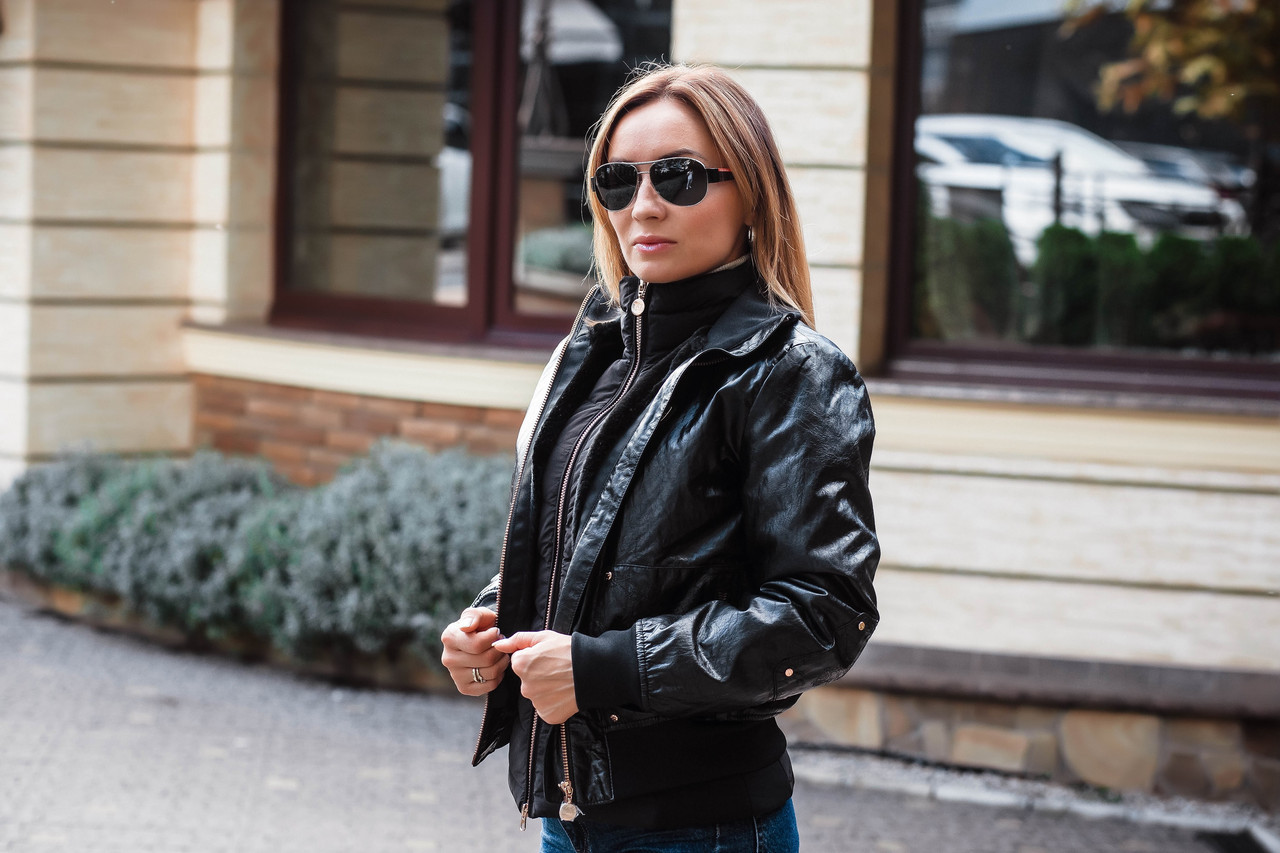 Куртка женская Emporio Armani Bomber black S (6ZTB30 TNH1Z 1200 1)