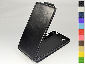 Откидной чехол из натуральной кожи для Sony Xperia C4 Dual E5333