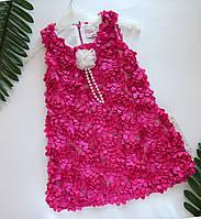 Платье для девочки Цветы 2,3 года