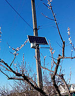 Система автономного освещения (САО) 12в, 50Вт+датчик движения, фото 1