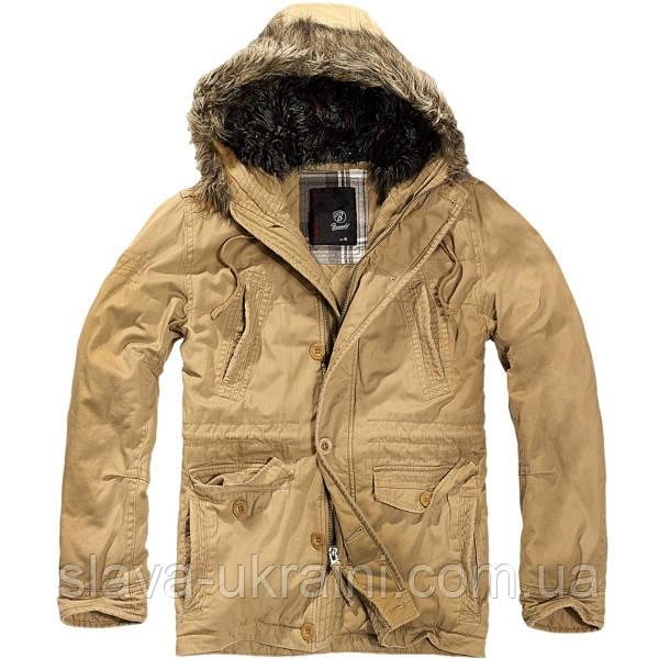 Куртка Brandit Vintage Explorer Camel