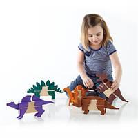 Ігровий набір Guidecraft Block Mates Динозаври (без блоків) (G7602), фото 1