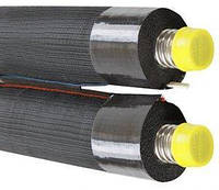 Двойная гофрированная труба DN16, изоляция 19 мм
