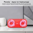Портативная беспроводная колонка Otic red, фото 2