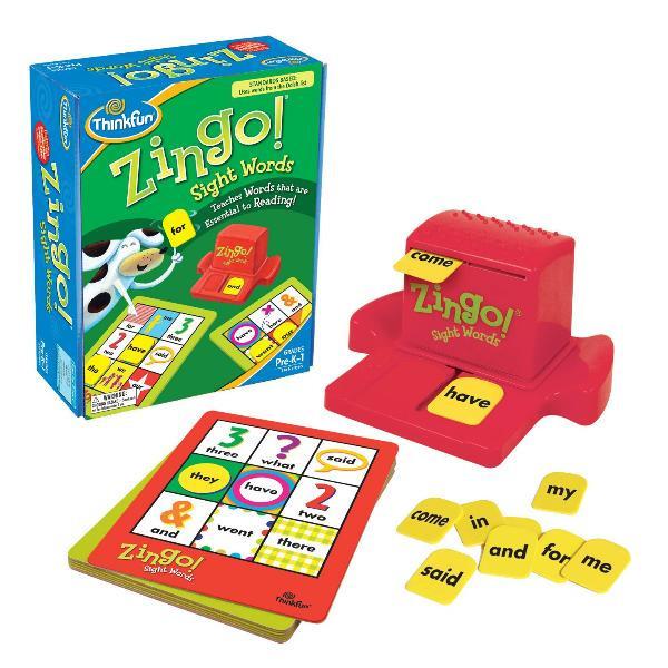 Игра Зинго Слова | ThinkFun Zingo Sight Words (развивающее лото для детей)