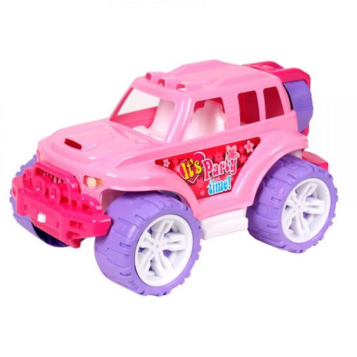 Внедорожник детский игрушечный. Машинка пластмассовая Джип.