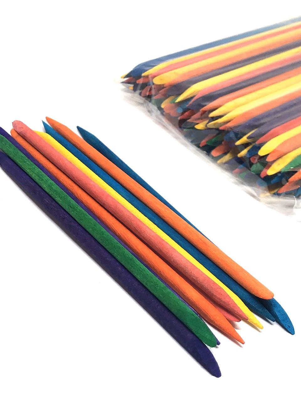Апельсиновые палочки цветные, 10 шт
