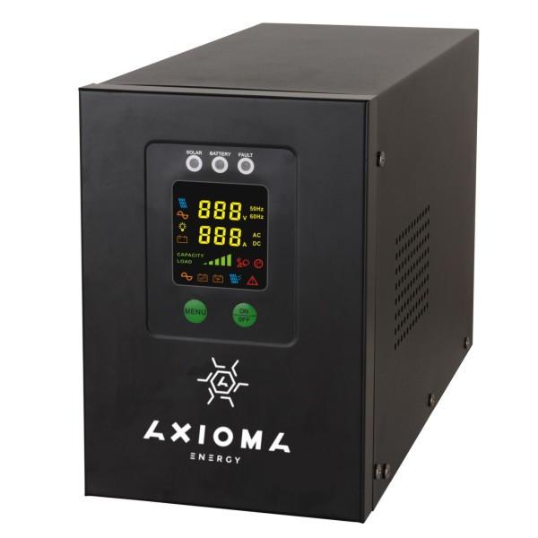 Инвертор+стабилизатор 800ВА (500Вт), 12В + MPPT 20А 12В, AXEN.IS-800