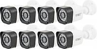 Комплект видеонаблюдения беспроводной UKC D001-8CH Full HD, набор на 8 камер